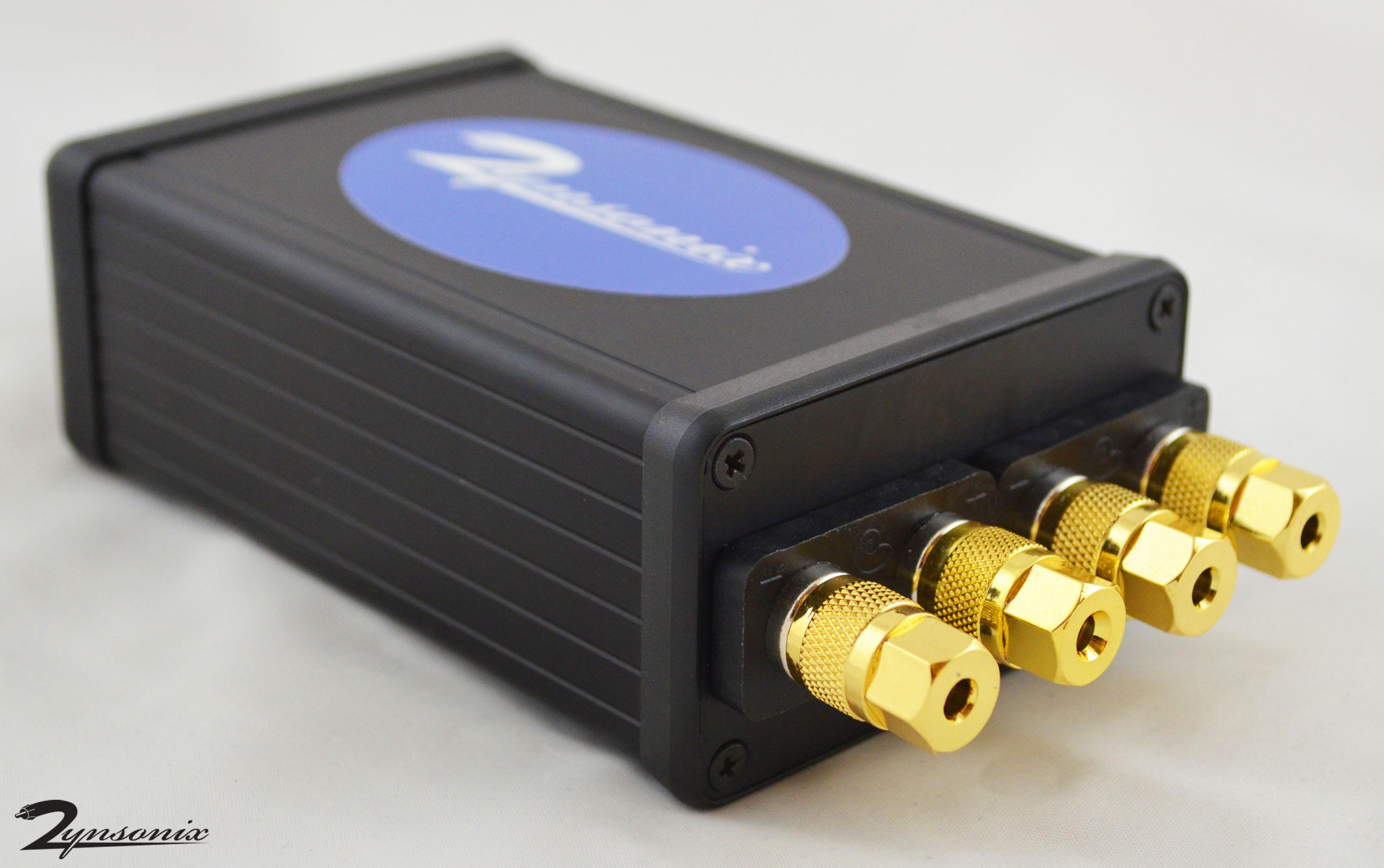 Speaker Amp To Headphone Adapter Box Listen To