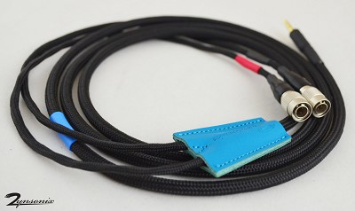 MrSpeakers cable, soft black nylon