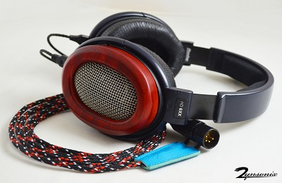 Xev Sennheiser HD600, HD650, HD6XX Headphone Cable